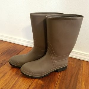 Other - Brown rubber boots